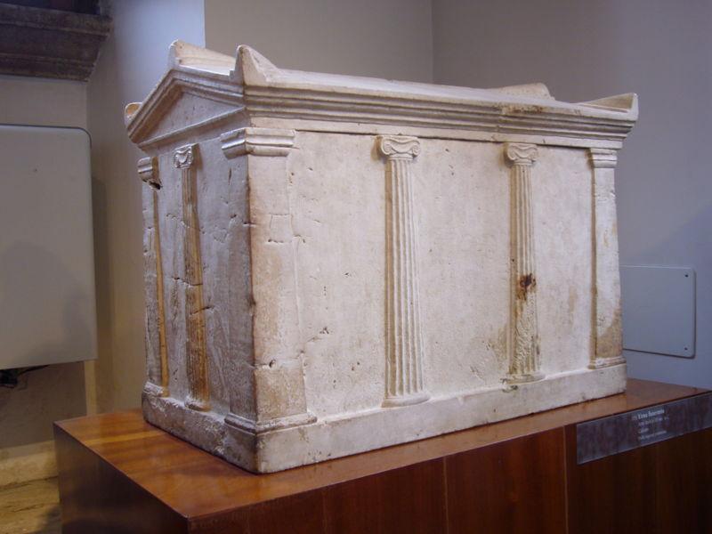 CAPOLAVORI DI PRAENESTE NEL MONDO: L'URNA FUNERARIA DEL MUSEO BARRACCO