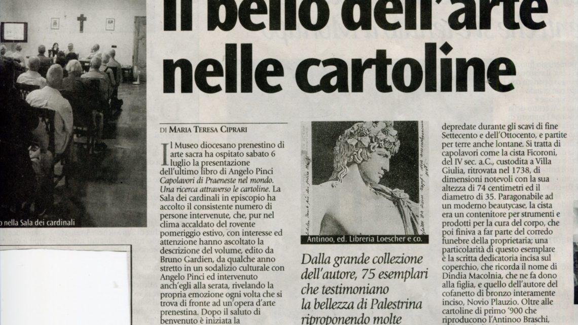 IL BELLO DELL'ARTE NELLE CARTOLINE