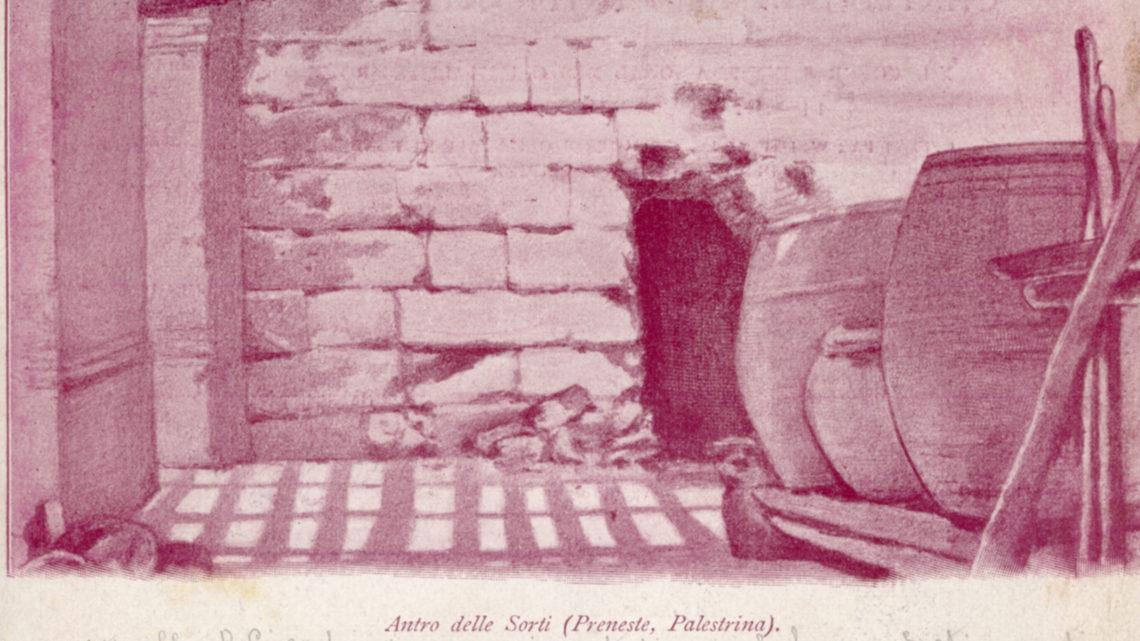 LE PRIME CARTOLINE ILLUSTRATE DI PALESTRINA RISALGONO AL 1899