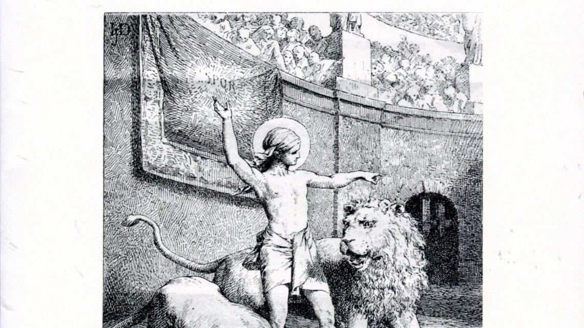 IL XVII CENTENARIO DEL MARTIRIO DI S. AGAPITO