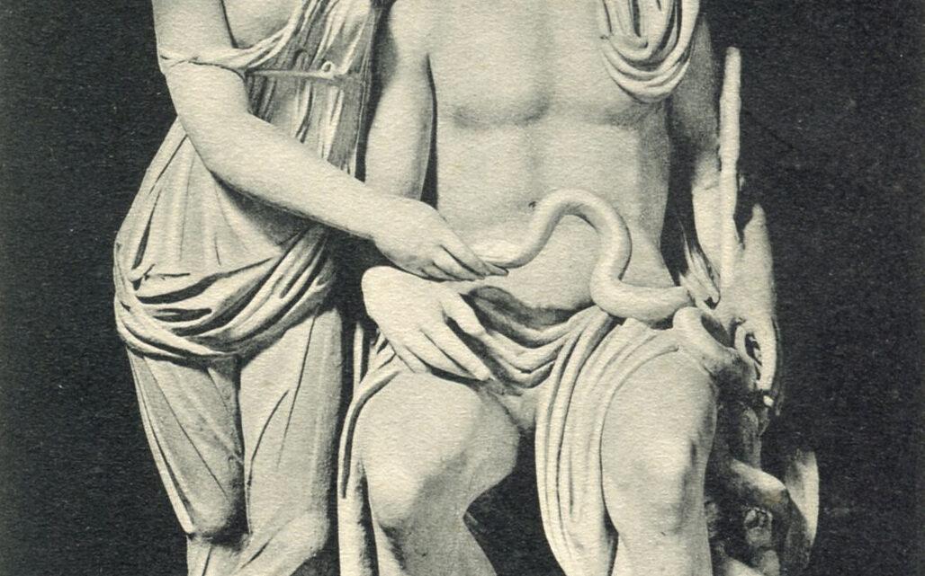 Le cartoline dei capolavori di Praeneste nel mondo:ESCULAPIO ED IGIA