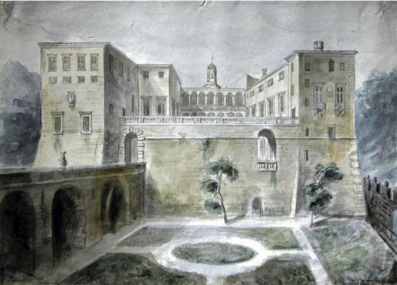 IL SOGGIORNO DI VALENTIN CARDERERA NEI FEUDI COLONNA NEL 1829